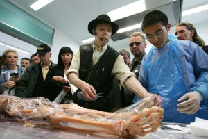 Gunther Von Hagens via Zimbio photograph